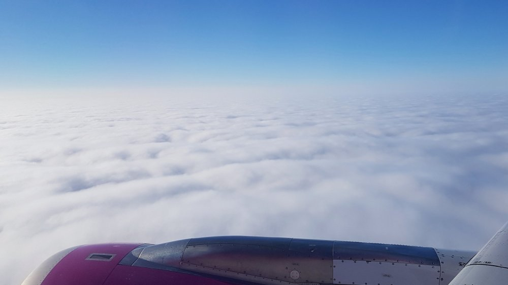 Flight to Budapest - WizzAir